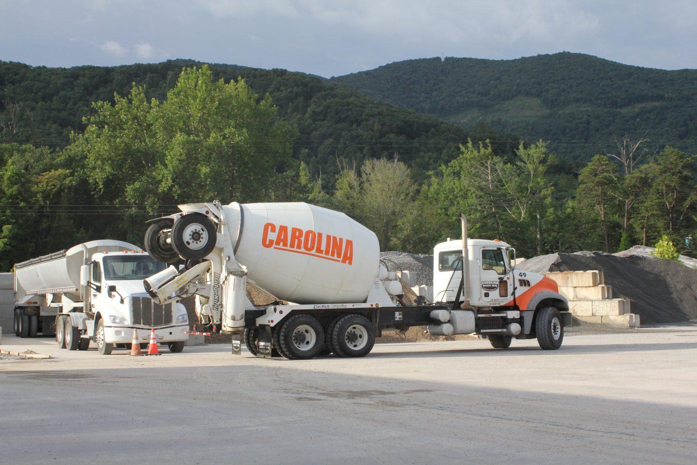 Asheville Concrete   Carolina Ready Mix   Swannanoa, NC