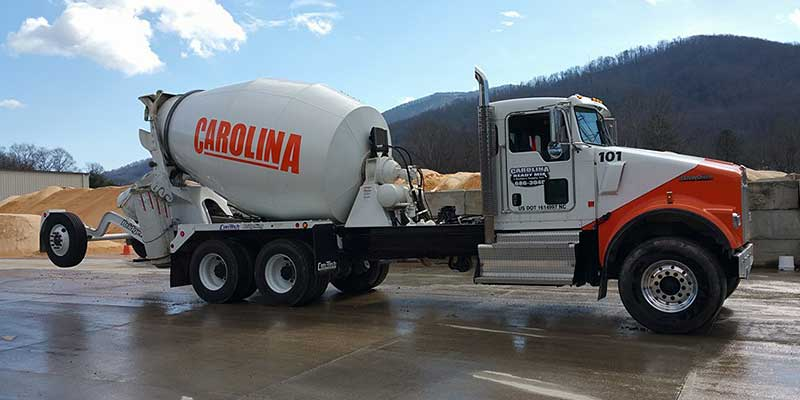Carolina Ready Mix construction truck