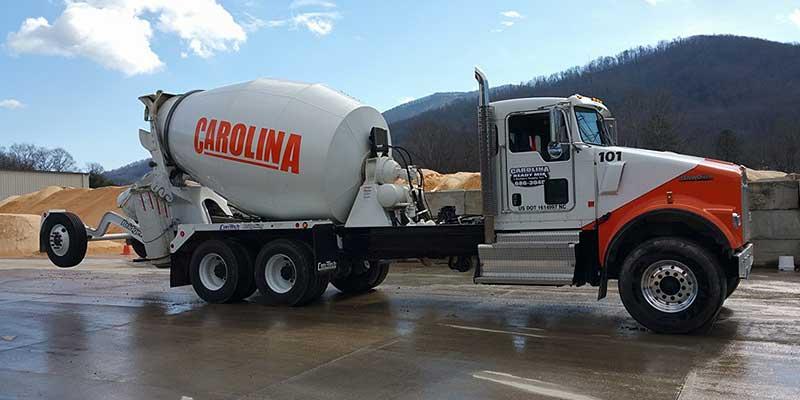 Carolina Ready Mix construction truck